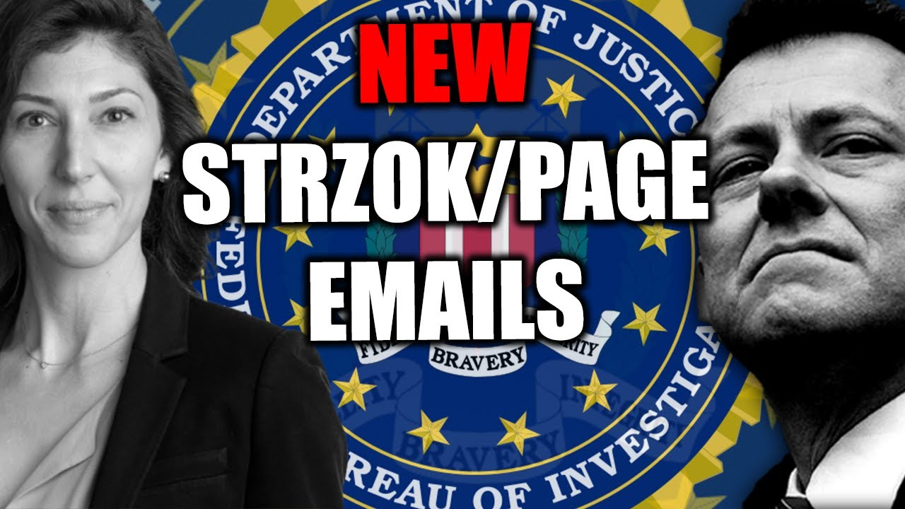 """NEW Emails Show Peter Strzok & Lisa Page's Involvement in """"Crossfire Hurricane,"""""""