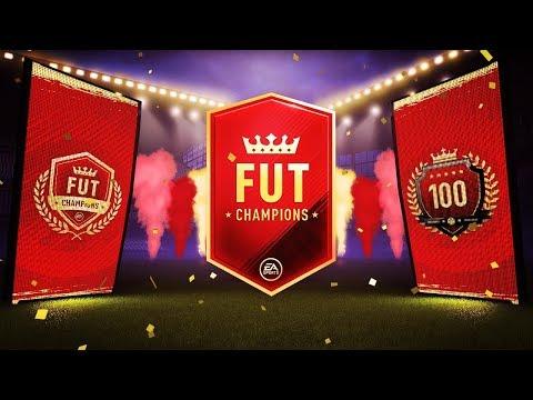 TOP 100 FUT CHAMPIONS WEEKEND LEAGUE REWARDS! - HIGUAIN OR SALAH?!