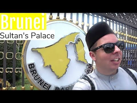 Brunei Travel   WE MET THE SULTAN OF BRUNEI!!