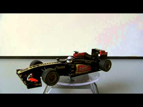 Scalextric Review: Lotus F1 K.Raikkonen 2013