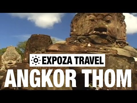 Angkor Thom (Cambodia) Vacation Travel Video Guide