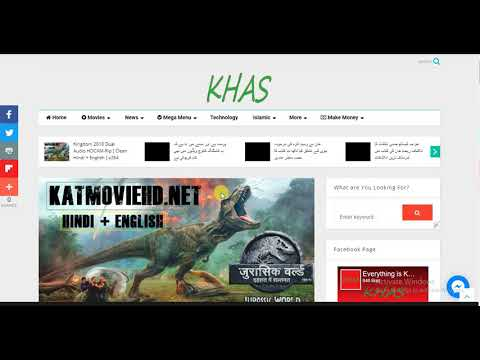 How to Download Jurassic World 2 Fallen Kingdom 2018 Dual Audio HDCAM-Rip