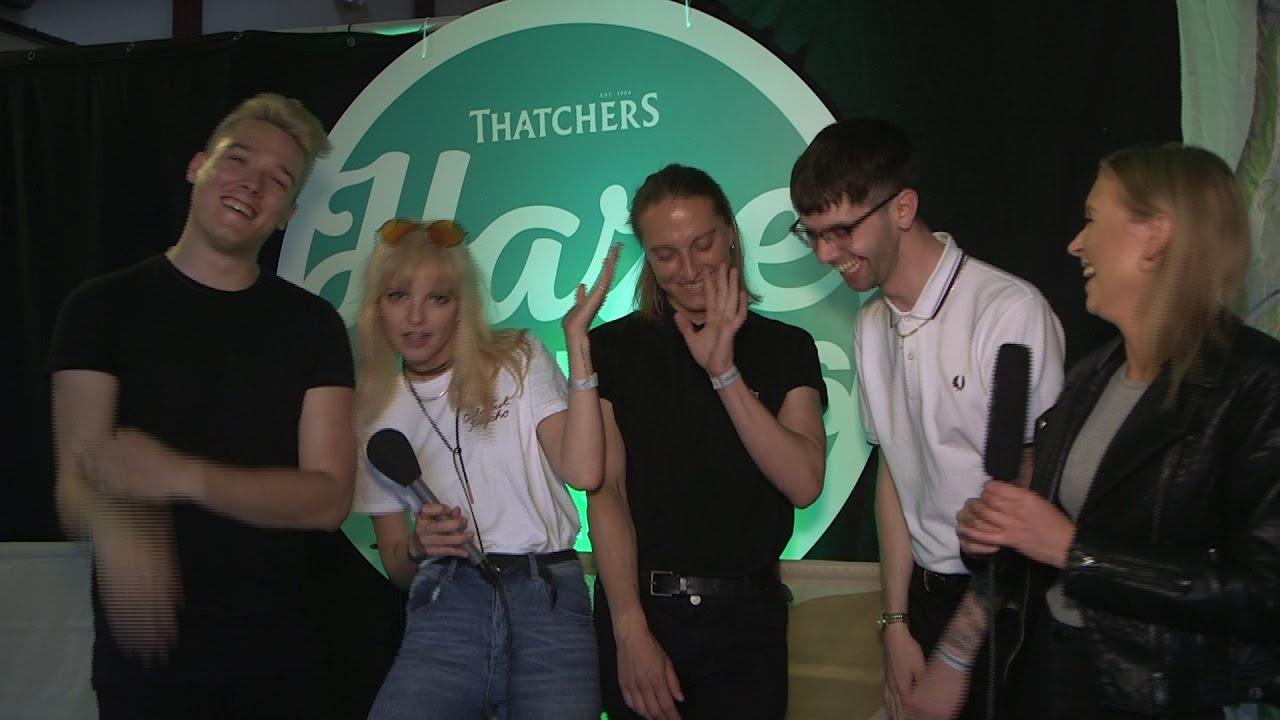 ANTEROS LIVE SET & INTERVIEW