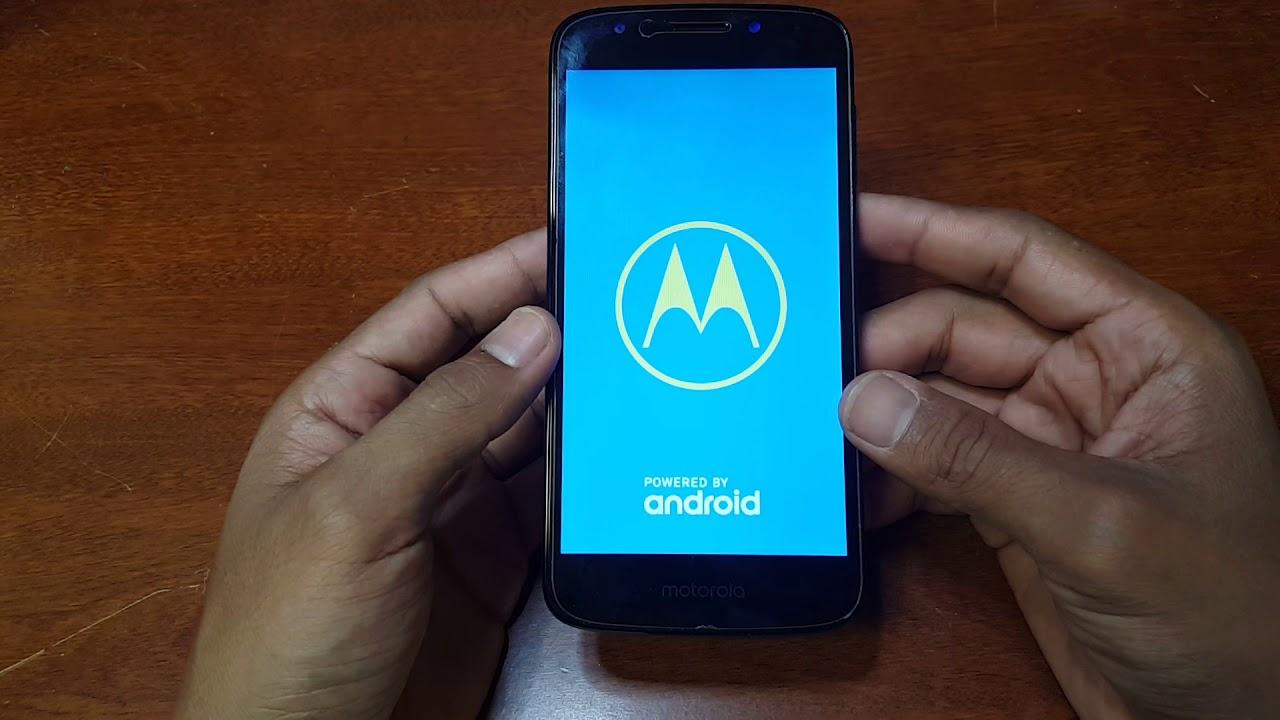 Motorola Moto E5 cruise factory restore, hard rest, forgot your pattern or  pin code