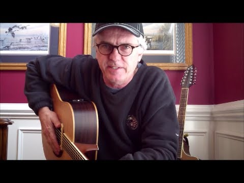 Running on Empty - Jackson Browne guitar lesson in Open G