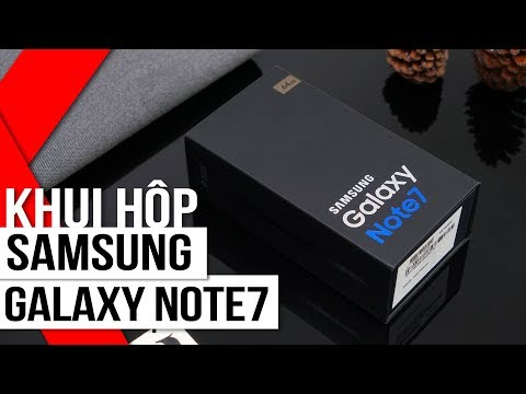FPT Shop - Khui hộp Samsung Galaxy Note 7 đầu tiên tại Việt Nam!