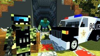 СЕКРЕТНЫЙ БУНКЕР ВОЕННЫХ! НАШЛИ ВЫЖИВШИХ! ЗОМБИ АПОКАЛИПСИС В МАЙНКРАФТ! - (Minecraft - Сериал)