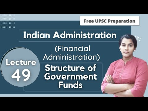 Structure of Government Funds || Financial Administration || Lecture 49
