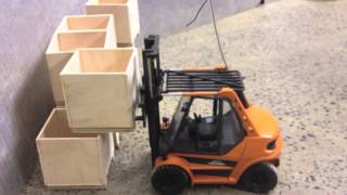 Linde H50 Forklift Robbe RC Tamiya Carson Truck