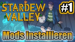 Stardew Valley Mods installieren 🌱 | SMAPI Modding API | Deutsch 2019
