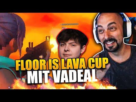 🌋 Ich spiele mit @Vadeal den neuen MODUS *LTM CUP* | Floor is Lava