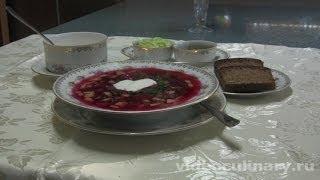 Холодный суп Свекольник - Рецепт Бабушки Эммы