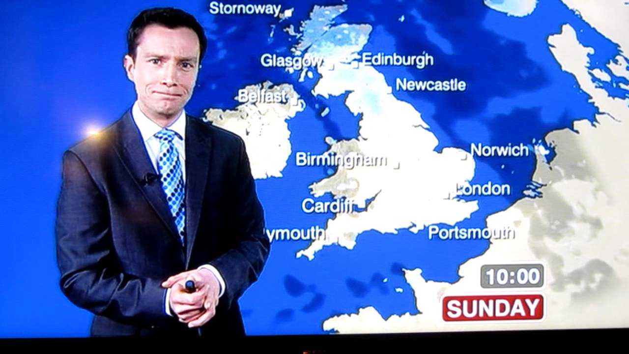 Bbc weather - Unlucky Bbc Weather Presenter Swears C Nt Accidently Live Weather Man Fail Youtube
