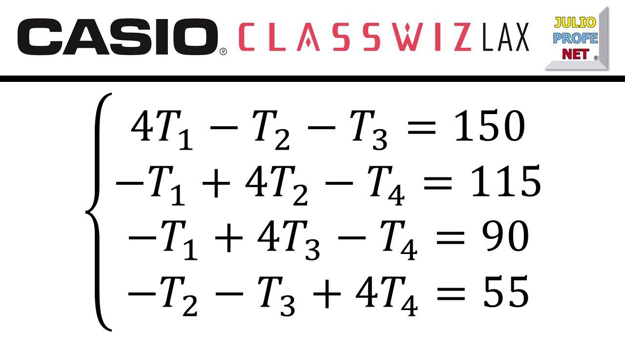 PROBLEMA CON SISTEMA DE 4×4 - ft. Casio Classwiz