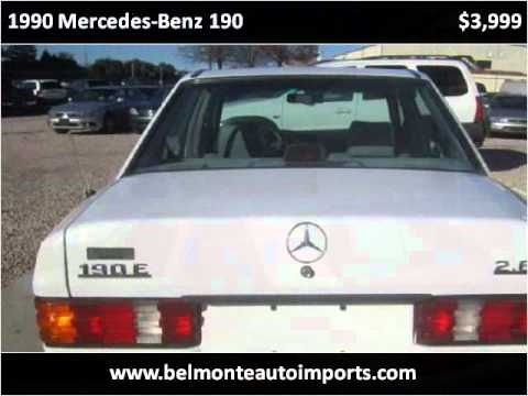 1990 mercedes benz 190 used cars raleigh nc youtube for Used mercedes benz raleigh nc