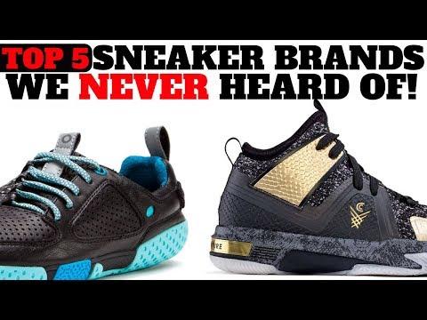 TOP 5 Sneaker Brands You've NEVER HEARD OF! 🤔🤔
