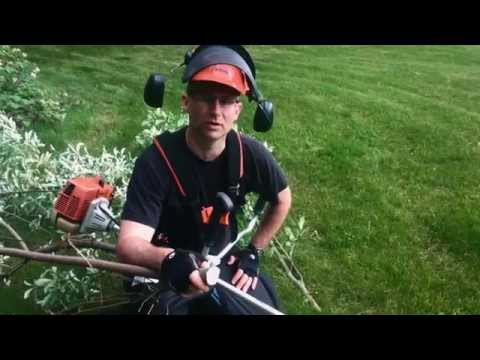 Tips In Two- Using A Stihl FS-250 Brushcutter