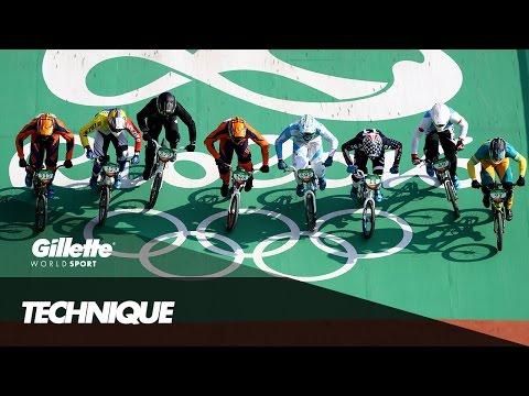 Racing BMX Technique with Niek Kimmann   Gillette World Sport