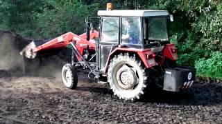Tractors and farm machines at work, Akcja obornik!!! 2014 Ursus C-330, Ursus C-360