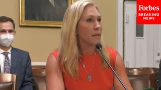 'Why Would We Draft Young Women?': Marjorie Taylor Greene Promotes NDAA Amendments In House Hearing