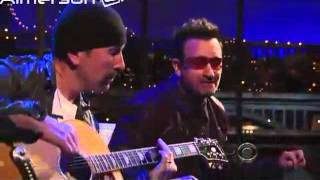 Bono And The Edge Interview Letterman 2011 Part 2