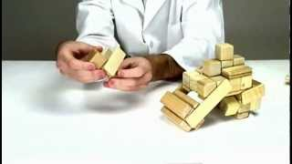 Magnetic Wooden Toys From Tegu - Building A Steam Roller