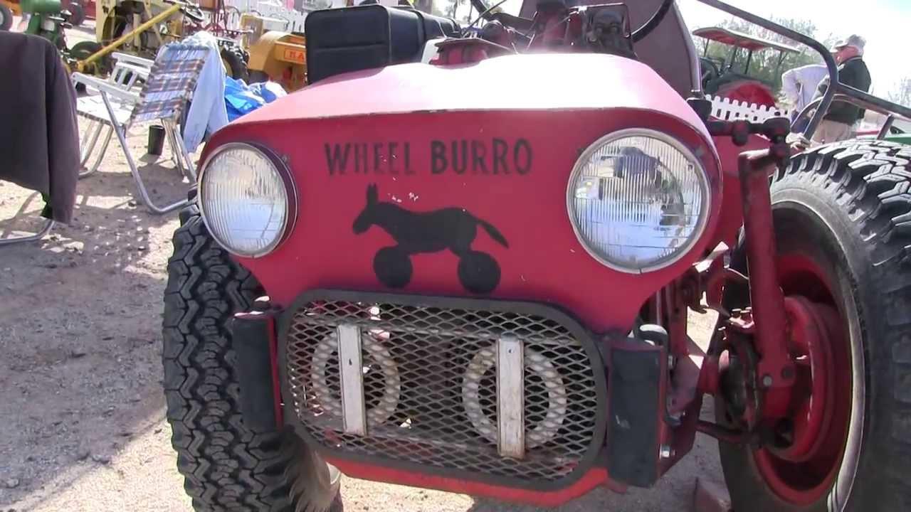 1962 Quot Wheel Burro Quot Home Built 4 Wheel Drive 4 Wheel Steer