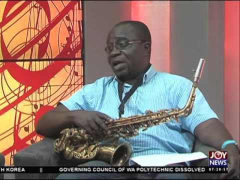 Jazz music in Ghana - My Banner on Joy News (29-4-16)