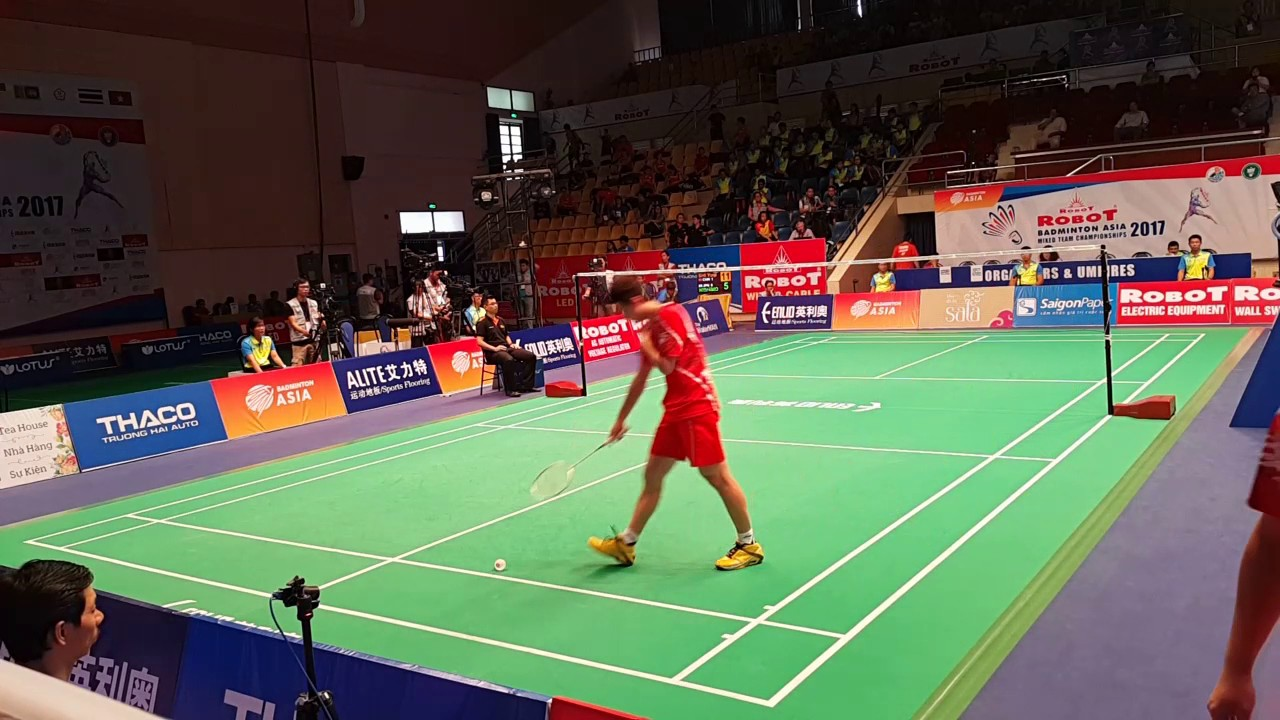Badminton Asia Mixed Team Championships Shi Yuqi vs Kenta