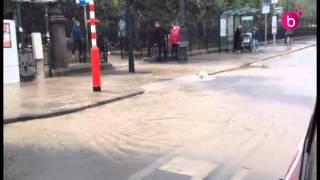 La pluie à Bruxelles en août 2014