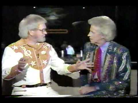 Hank Locklin interviewed by Porter Wagoner (Opry Backstage - 1995) 1 of 2