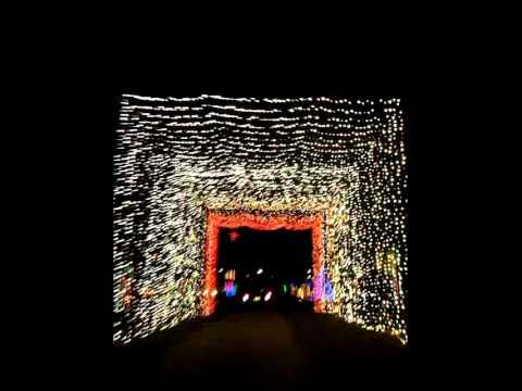 Christmas Lights 2014 - Jellystone Park, Nashville TN. - YouTube