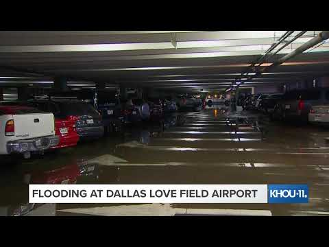 LIVE LOOK: Flooding At Dallas Love Field Airport