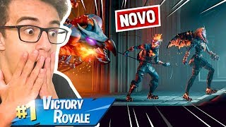 I BOUGHT THE NEW PACK OF SKINS VOLCANIC LEGENDS-FORTNITE BATTLE ROYALE-RICK SANTINA
