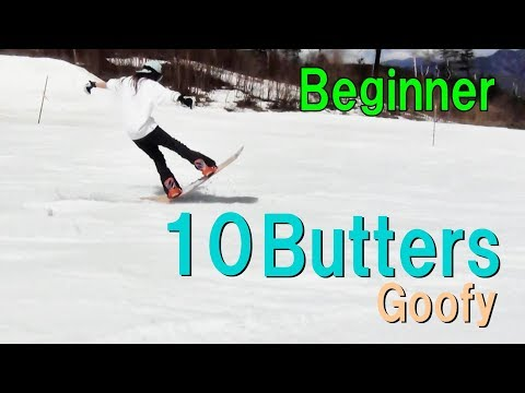 Snowboard Butter Tricks 10 Beginner Girls