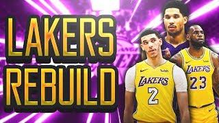MASSIVE FREE AGENCY TRADE/SIGNING! Realistic Los Angeles Lakers Rebuild! NBA 2k19 MyLeague