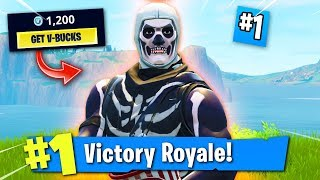 THE RAREST FORTNITE SKIN IN THE GAME! (How I Got The SKULL TROOPER!)