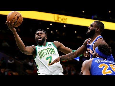 Frank Ntilikina Benched! Celtics Blowout Knicks! 2018-19 NBA Season