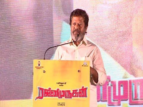 "Rajkiran - ""Sivakarthikeyan has got all the talent"" | Rajini Murugan Audio & Teaser Launch - BW"