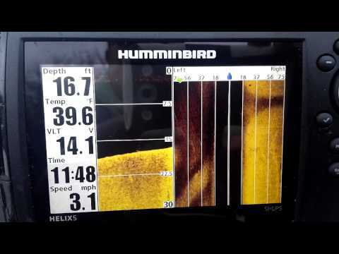 Humminbird Helix 5 SI GPS - YouTube