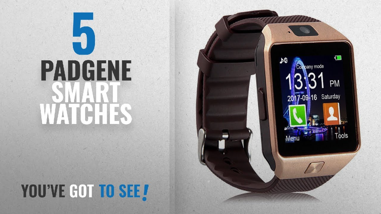 7be548a61 Top 5 Padgene Smart Watches [2018 Best Sellers]: Padgene DZ09 Bluetooth  Smart Watch with Camera