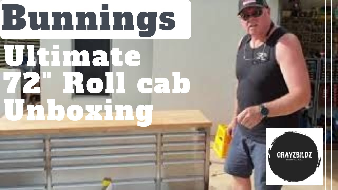 Bunnings Ultimate Storage 72 inch Tool Cabinet Unboxing and review  Tool  Box Tour