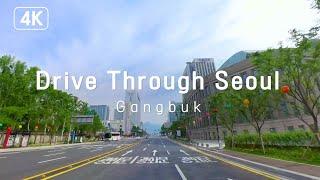 [4K] 서울 강북 드라이브 | 이른 아침 뻥 뚫린 서울의 도심을 신나게 달려볼까요!🚗🚕