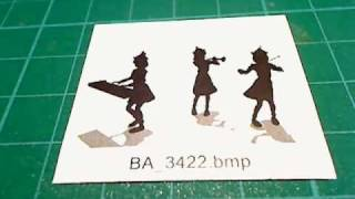 YouTube動画:Bad Apple!! - Stop Motion PV