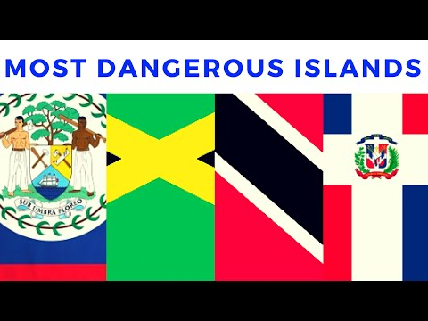 TOP 10 MOST DANGEROUS CARIBBEAN ISLANDS (Crime In The Caribbean 2019)