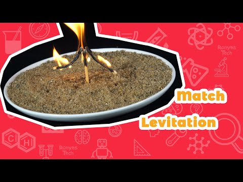 Match Levitation | Science Experiment for Kids