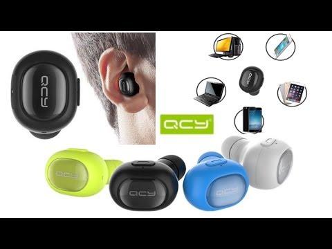 QCY Q26 Обзор влагозащищенной беспроводной bluetooth гарнитуры от Xiaomi Mini  Bluetooth Earpiece