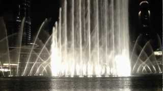 I will always love you - Whitney Houston, Dubai Fountains