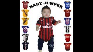 Baby Jumper AC Milan, Barca/Barcelona, Chelsea, Juventus, Mancester United, Real Madrid, Persija