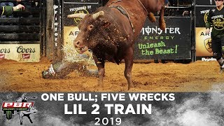One Bull; Five Wrecks: Lil 2 Train